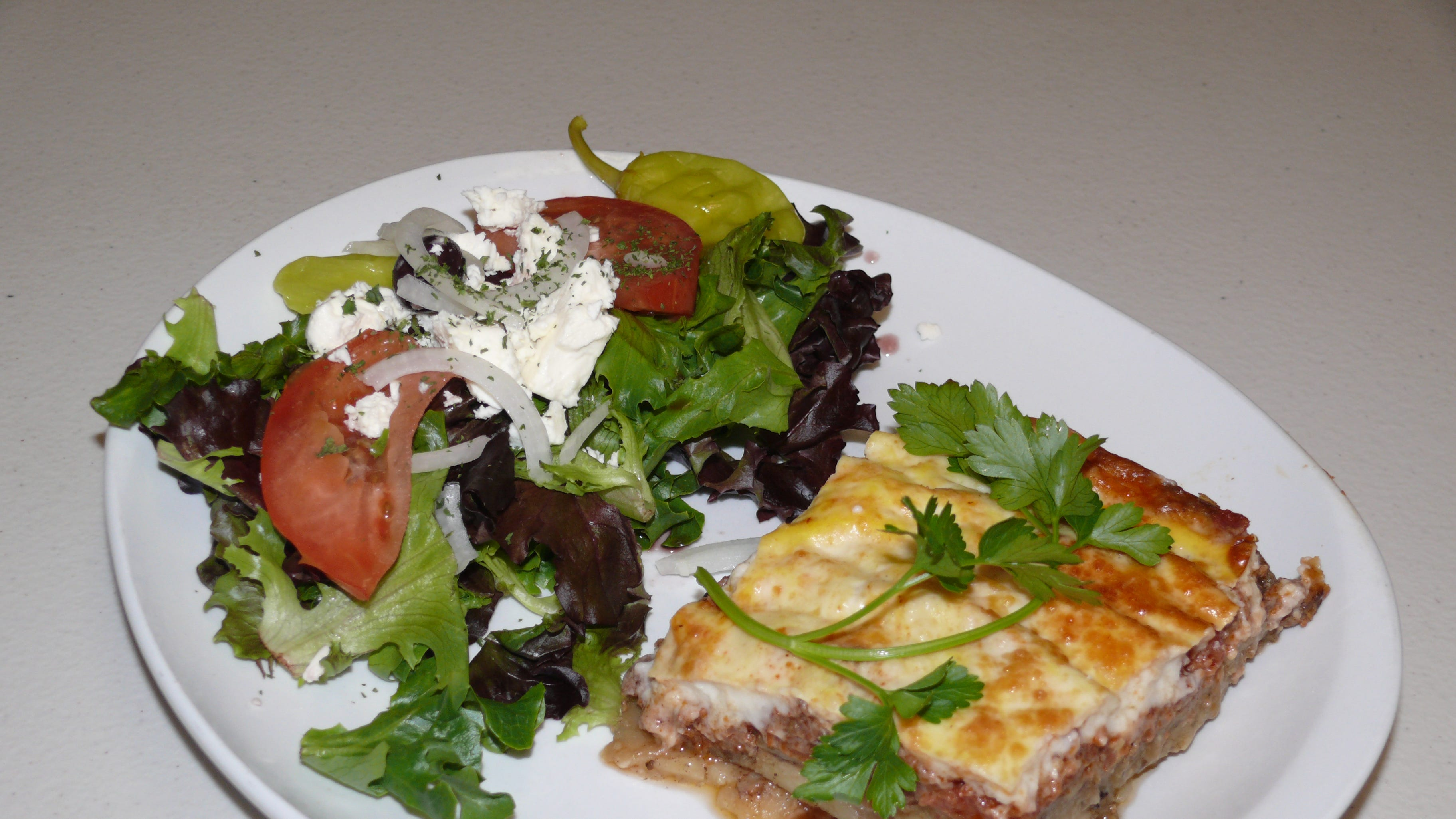 Traditional Middle eastern moussaka  is among the...