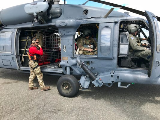 920th Rescue Wing flies from Charleston