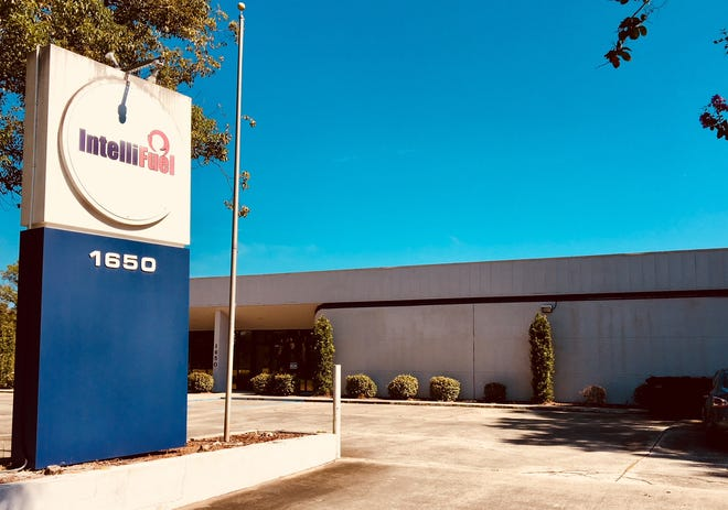 This 10,000-square-foot vacant building at 1650 Chaffee Drive, which is inside the Spaceport Commerce Park in Titusville, could be the future home of an aircraft maintenance company now located in Orlando. This building formerly was the home of IntelliFuel Systems Inc.