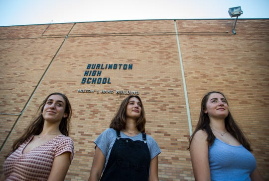 From left, BHS Register editors, Seniors Halle Newman, Nataleigh Noble and Juniors Julia Shannon-Grillo and (not shown) Jenna Peterson, didn't have to fight the law to win. The law, as it turns out, was already on their side. After Burlington High School's principal sought to censor the student newspaper's online post of public information regarding a misconduct investigation of a staff member at the school, Vermont state law kicked in that guarantees the same protections under the First Amendment as any other journalists, students or not.