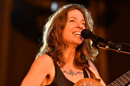 Ani Difranco at Grand Point North in Burlington, VT, on Saturday, Sept. 15, 2018.
