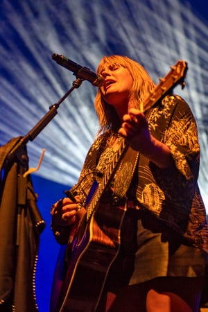 Grace Potter performs at Grand Point North in Burlington, VT, on Sunday, Sept. 16, 2018.