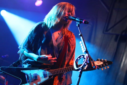 Grace Potter performs at Grand Point North in Burlington, VT, on Saturday, Sept. 15, 2018.