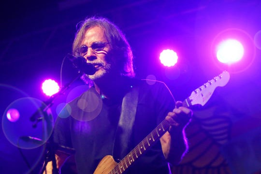 Jackson Browne performs at Grand Point North in Burlington, VT, on Saturday, Sept. 15, 2018.