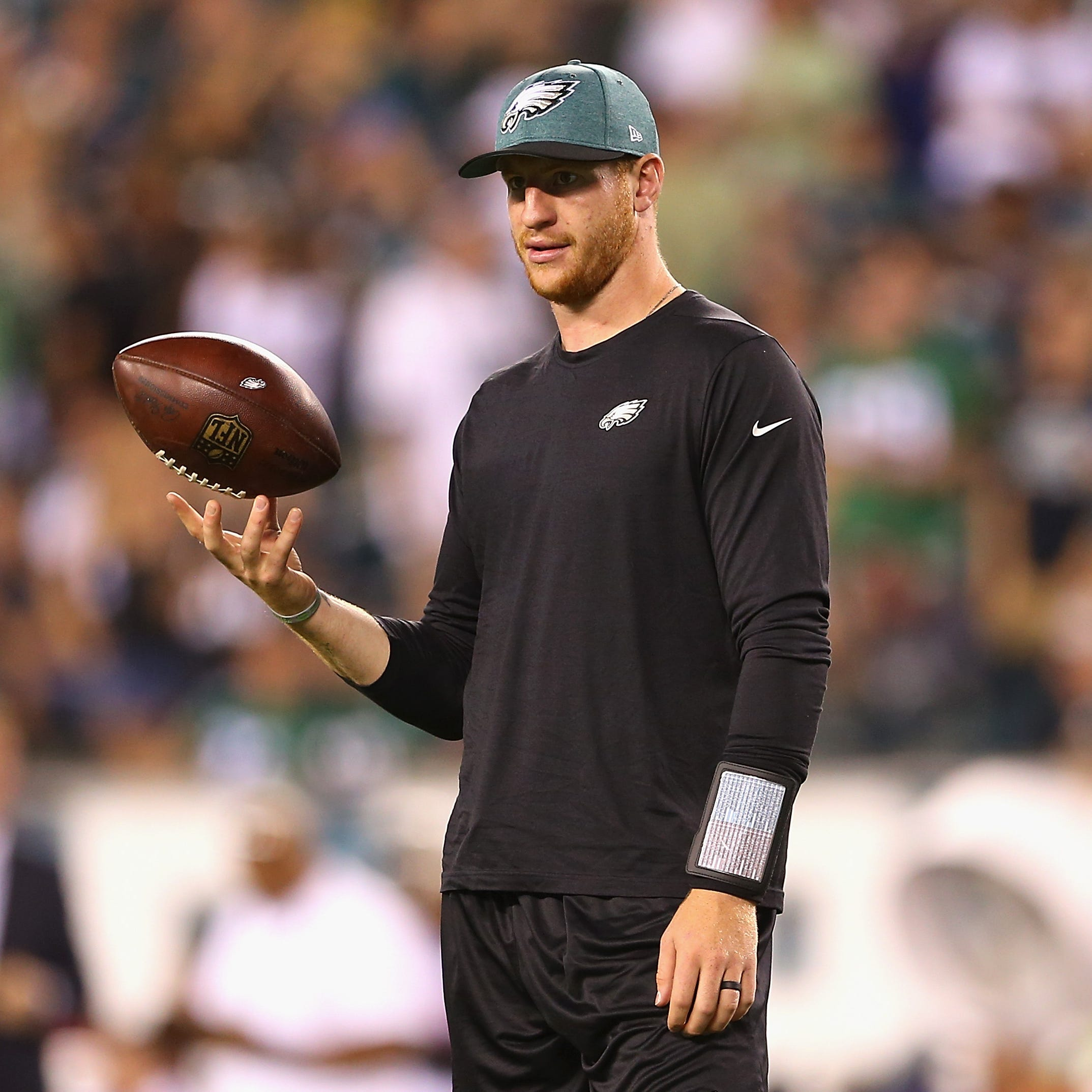 Carson Wentz cleared, will start for the Eagles on Sunday