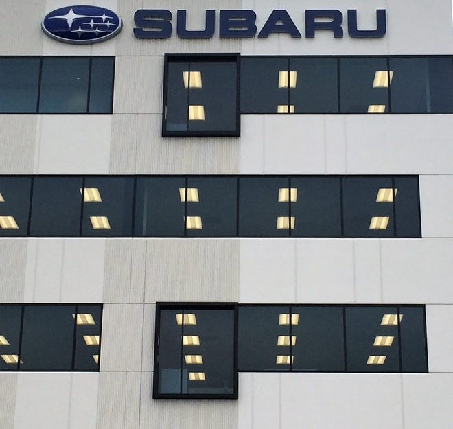 Camden-based Subaru of America is recalling 1.3 million vehicles due to a defect involving brake lights.