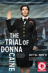 George Street Playhouse kicks off its season with the world premiere of 'The Trial of Donna Caine,' a courtroom drama penned by Walter Anderson, former editor and CEO of Parade magazine.