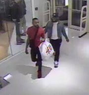 Police say these two men captured on surveillance are suspected in a theft at Macy's in Cherry Hill.