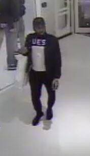 Police say this man is suspected in two thefts in Cherry Hill.
