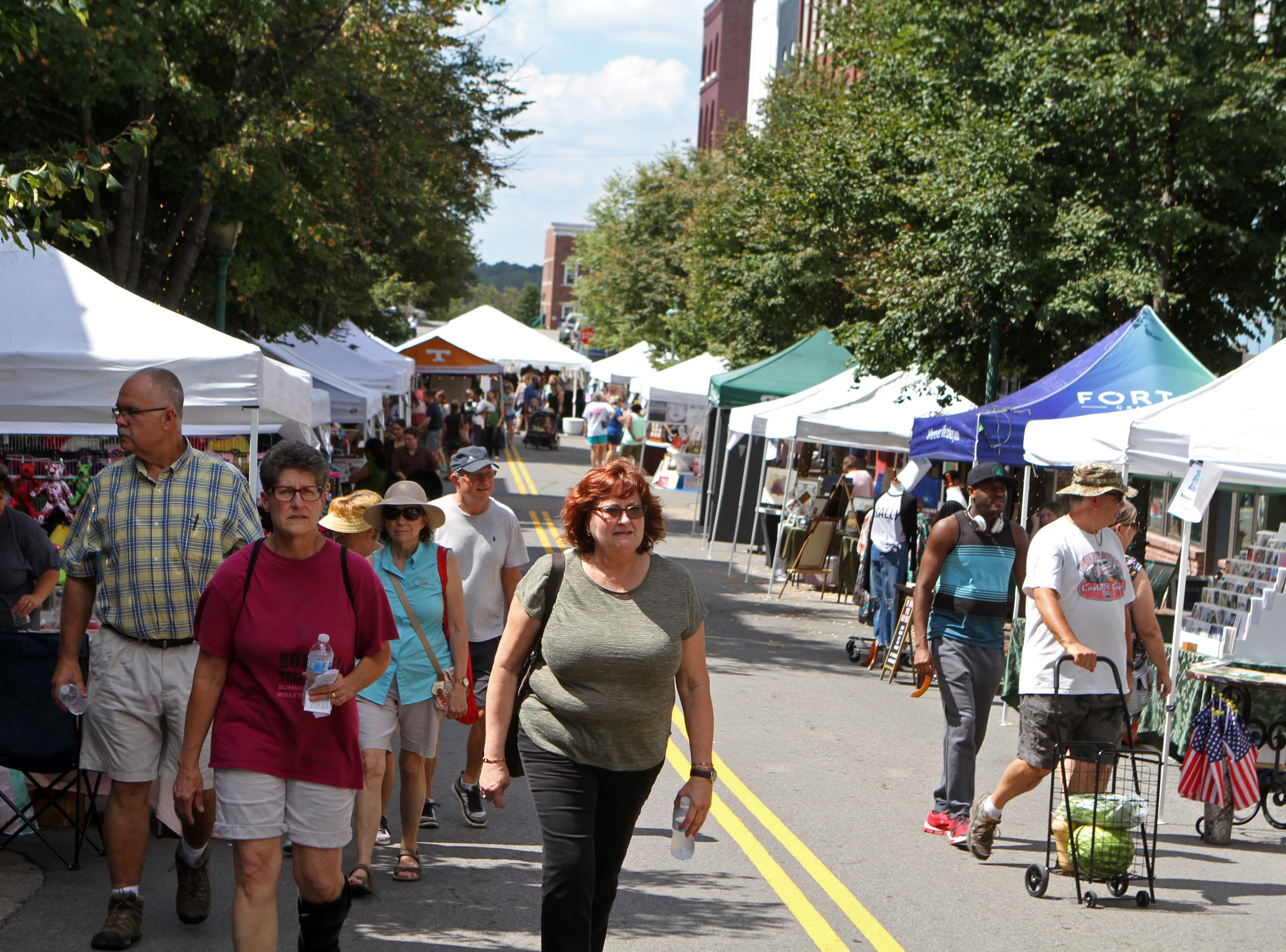 Hundreds came out for Frolic on Franklin Saturday, Sept, 15, 2018.