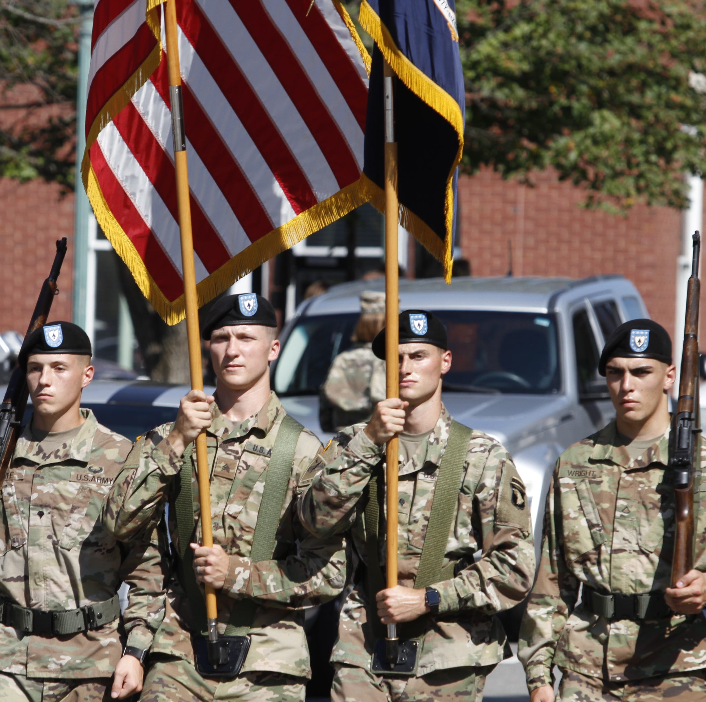 Veterans honored in Welcome Home parade through downtown