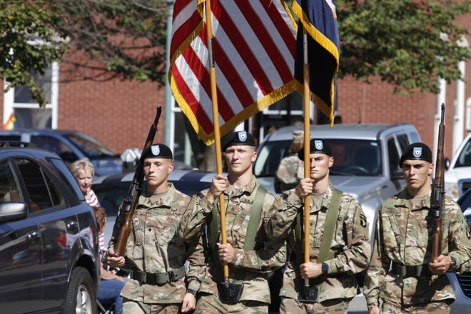 The Welcome Home Veterans Celebration continued Saturday, Sept. 15, 2018  with a parade downtown.