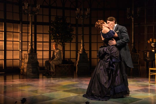 """Scenes from the production of """"The Age of Innocence"""" at the McCarter Theatre in Princeton."""
