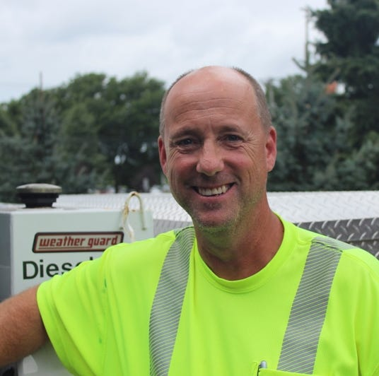 Piscataway DPW Foreman Michael Mosier swims to rescue driver from flood waters