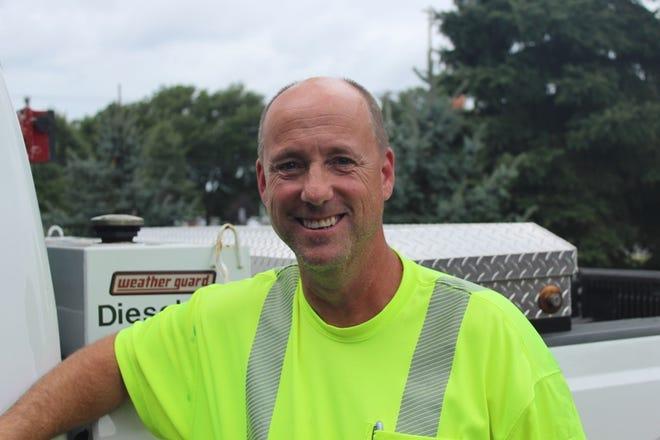 Piscataway Department of Public Works Foreman Michael Mosier