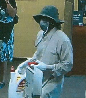 South Plainfield bank robber sought by police.