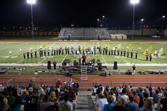 Bridgewater-Raritan High School marching band