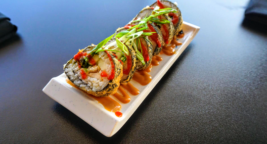 The Pho Roll from Fusion Bistro.