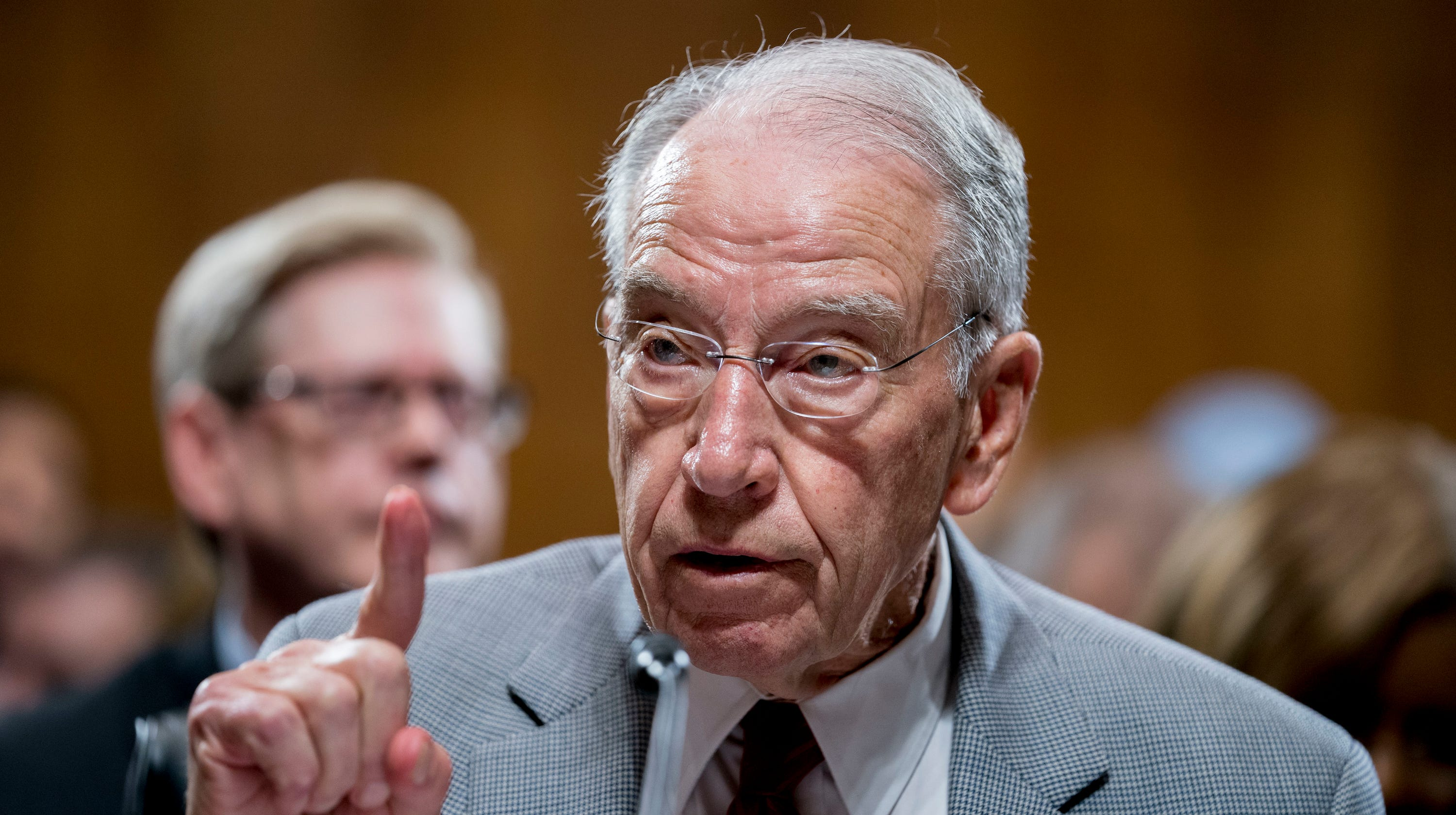 Sen. Chuck Grassley: 'I'd be very concerned' about how Donald Trump's tax returns got out – USA TODAY