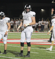 Greene County OT Tyler Miller (66) is being recruited by Iowa State and Iowa, among other Power Five programs.