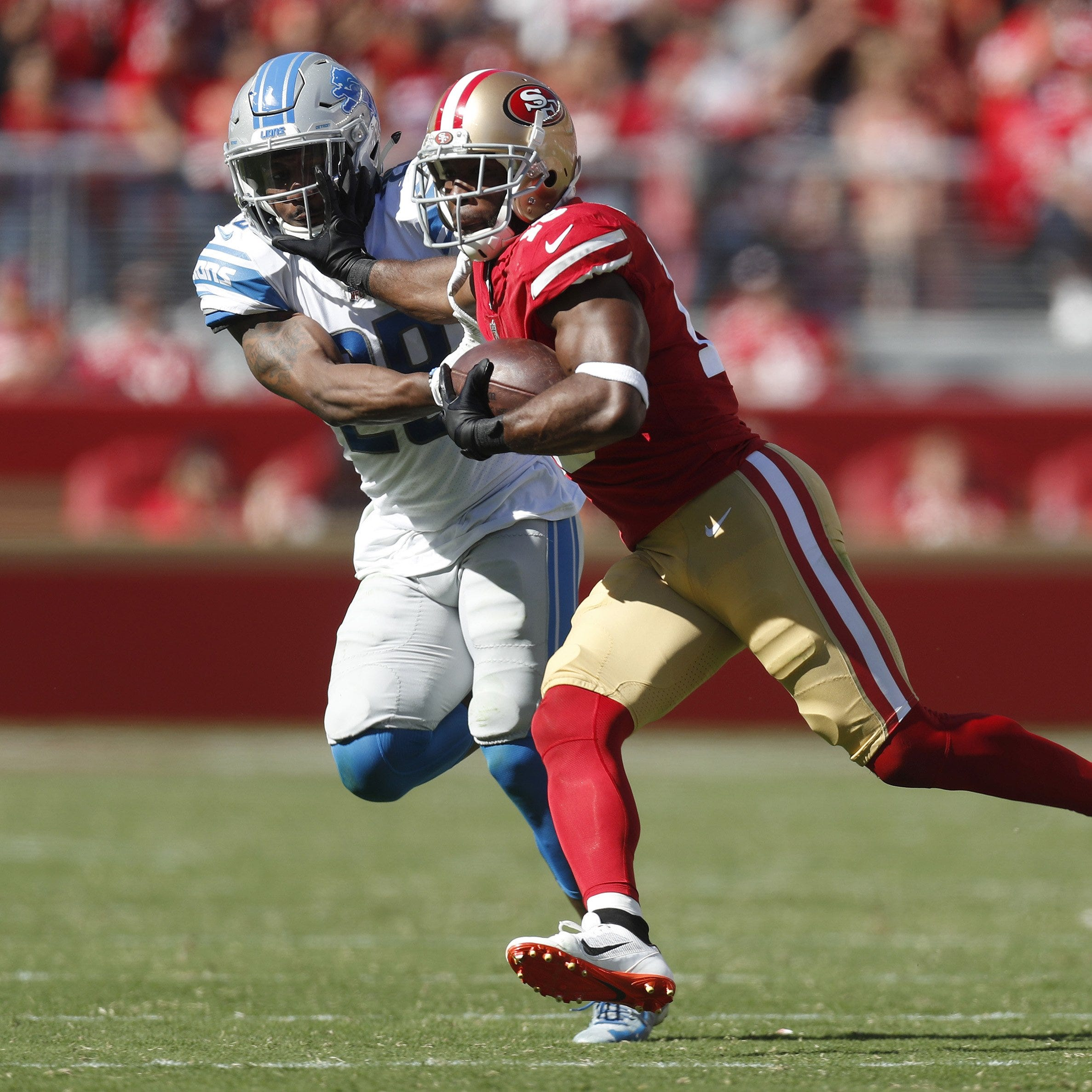 Lions' Quandre Diggs on late defensive holding call vs. 49ers: 'Awful'