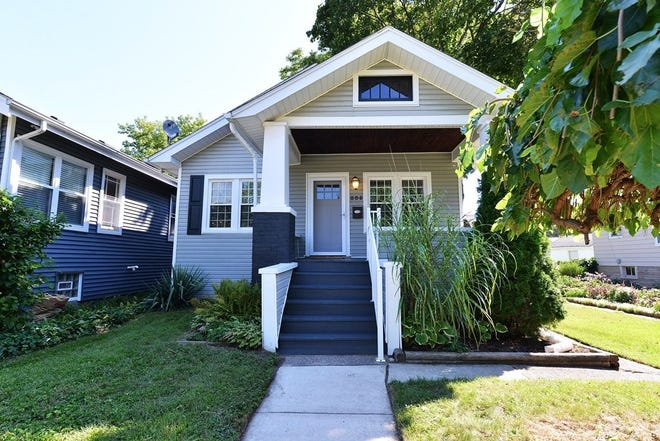 This Royal Oak home is located at 205 S Maple Ave.  It has three bedrooms and one bathroom.