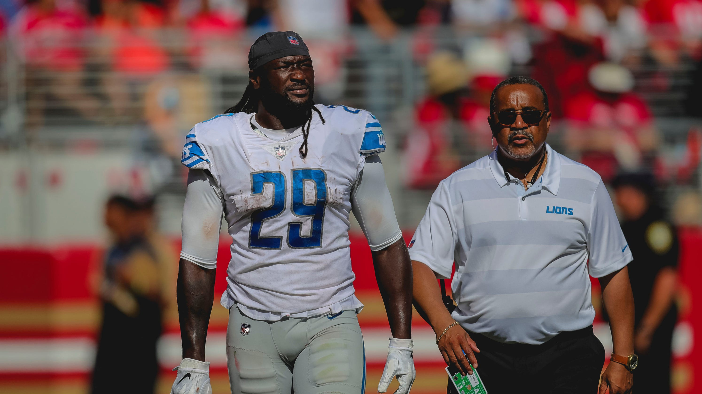 9819af2aa5b Detroit Lions' LeGarrette Blount expects NFL fine for shove, ejection