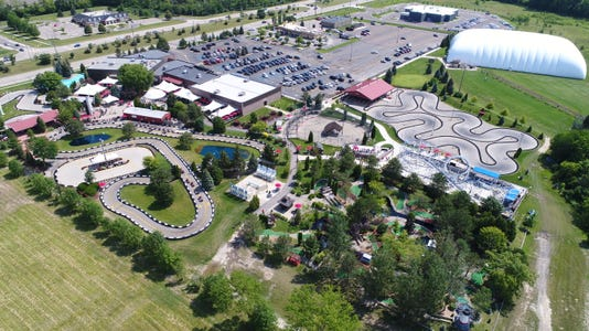 Full Park Aerial Incl Soaring Eagle