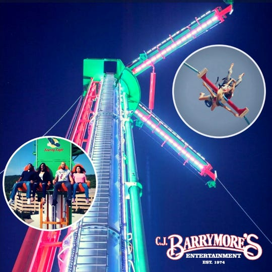 The drop tower is a planned attraction for  C.J Barrymore's.