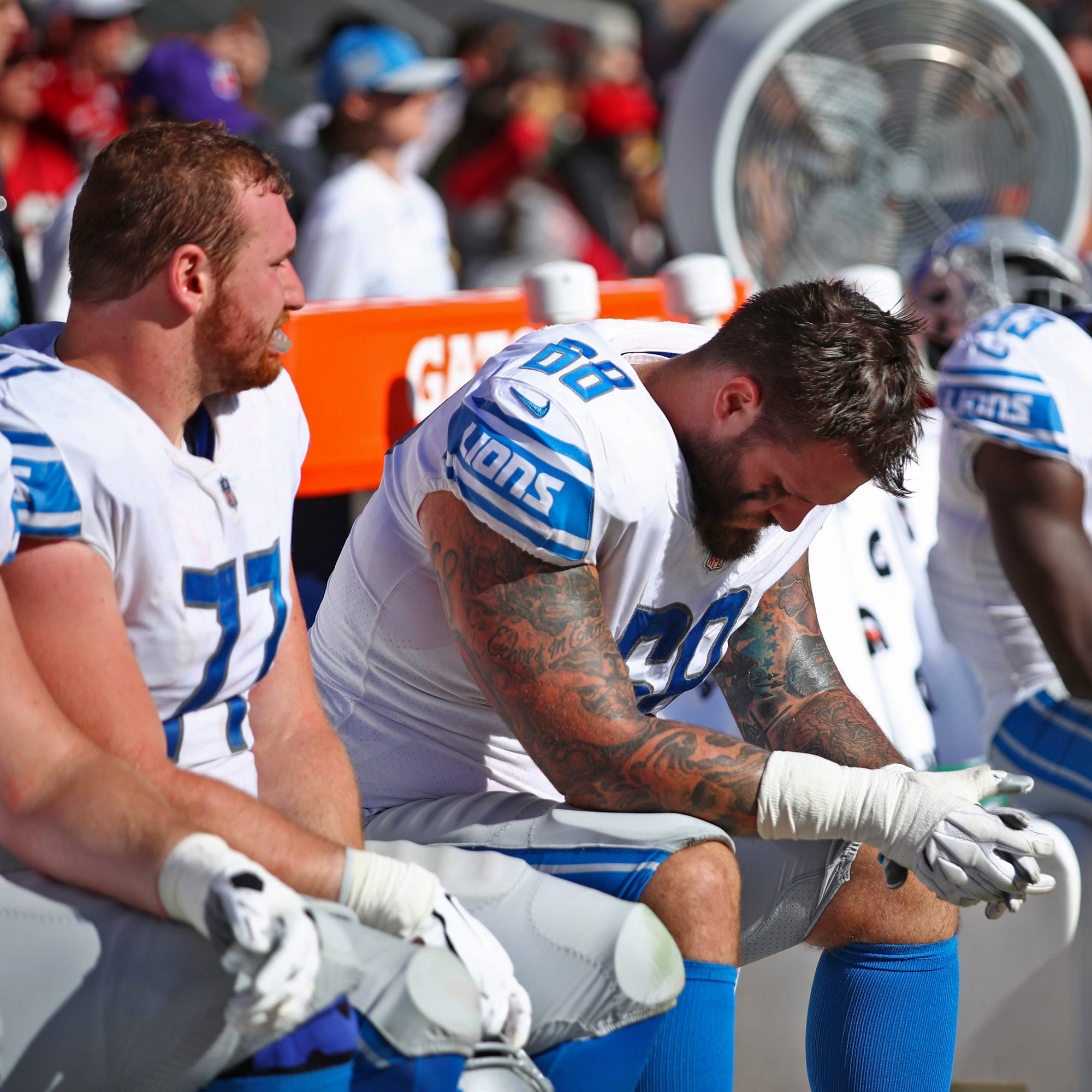 NFL 'body weight' rule tweak 'an adjustment' for Detroit Lions defense