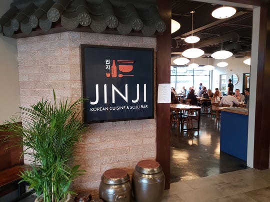 Jinji restaurant and soju bar is one of three different Korean dining options in New Seoul Plaza, which debuted August 15, 2018, in the former New Seoul Garden space in Southfield.