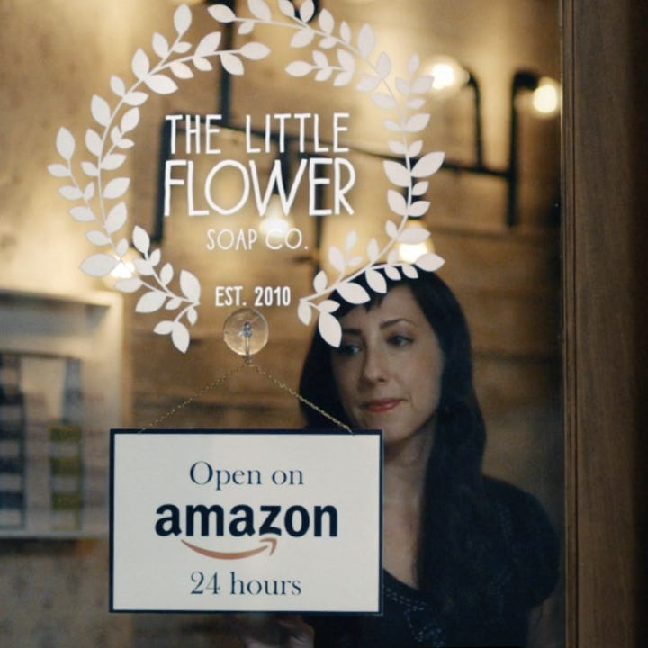 Chelsea business spotlighted in national TV ad for Amazon Storefronts
