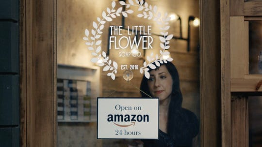 The Little Flower Soap Co., a business based in Chelsea-Michigan, was featured in a national TV ad for Amazon Storefronts. The shop's co-founder, Holly Rutt, is featured in the video.