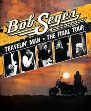 Poster for Bob Seger's Travelin' Man final tour, which starts in November