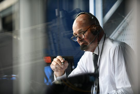 Kirk Gibson took Sunday off from the Tigers' Fox Sports Detroit telecast.