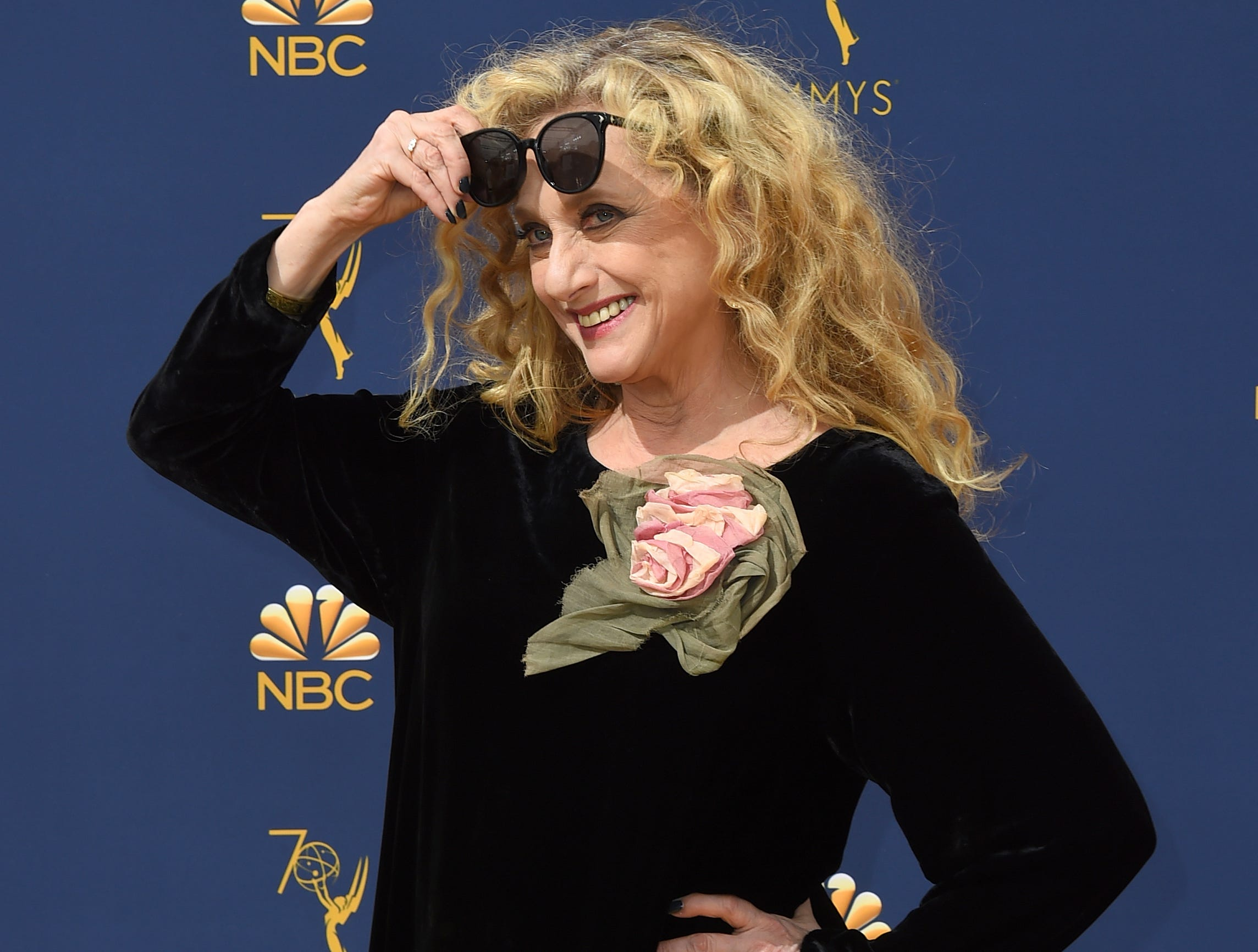 Carol Kane arrives at the 70th Primetime Emmy Awards on Monday, Sept. 17, 2018, at the Microsoft Theater in Los Angeles.