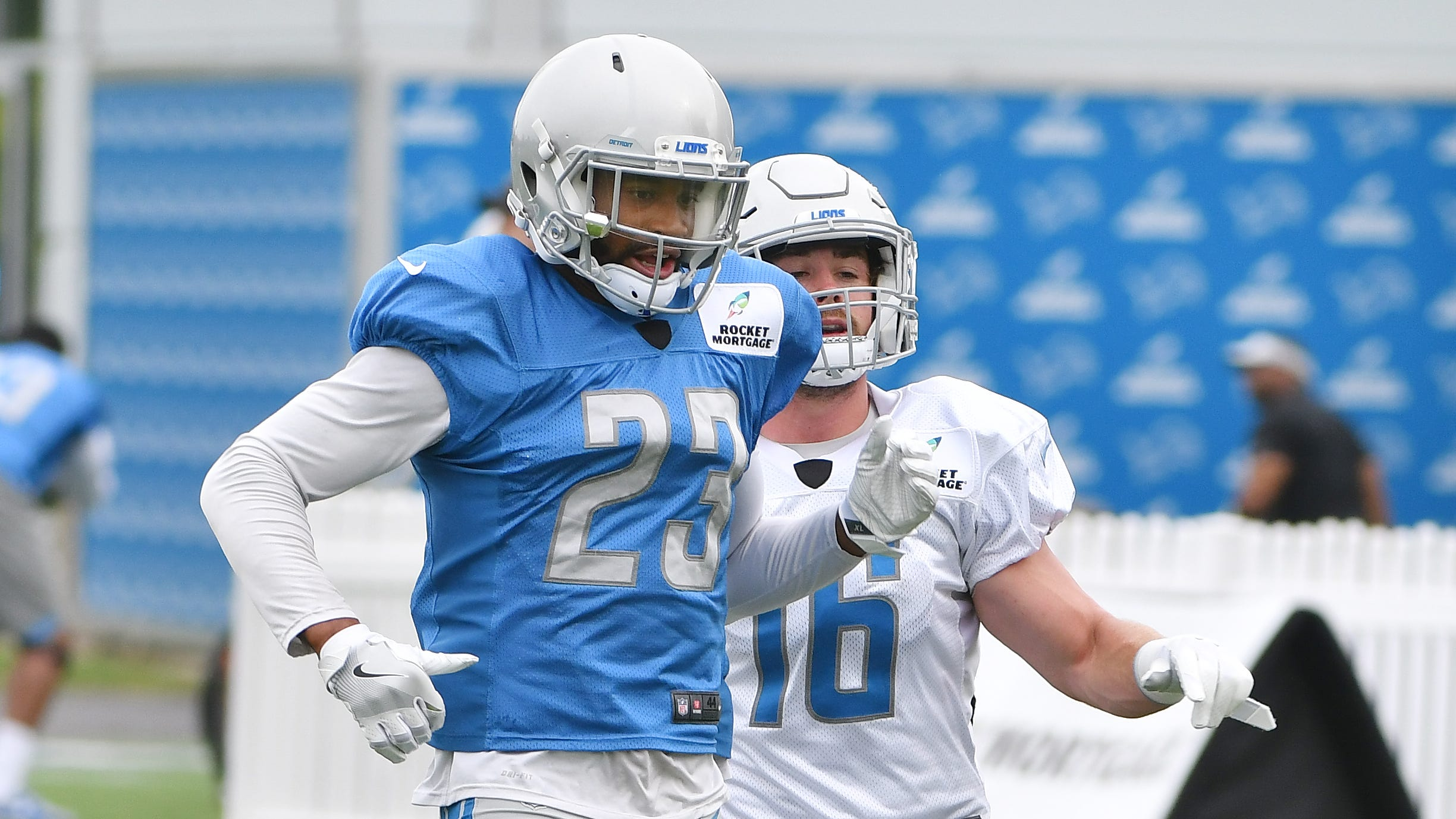 Lions take 'next man up' approach with Slay, Ansah ailing