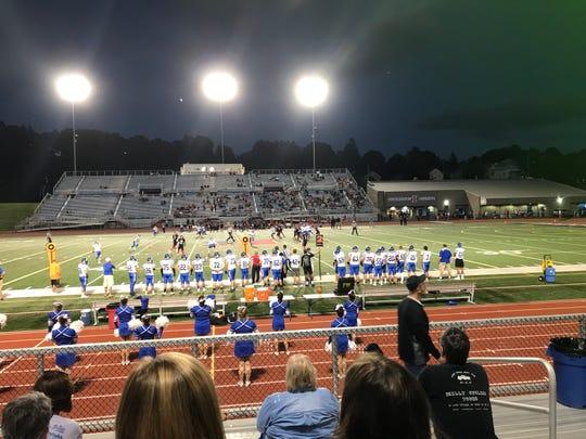 Horseheads and Binghamton football teams faced off Friday at Alumni Stadium.