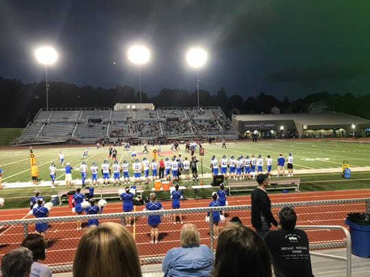 Horseheads and Binghamton football teams faced off Friday at Alumni Stadium.