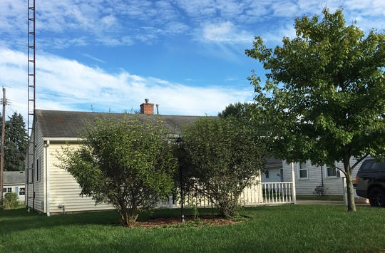 This house at 1329 Fleetwood Dr. in Fremont sold for $55,000 on Sept. 4, 2018.