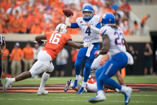 Ncaa Football Boise State At Oklahoma State