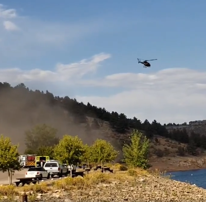Man pulled from Horsetooth Reservoir dies