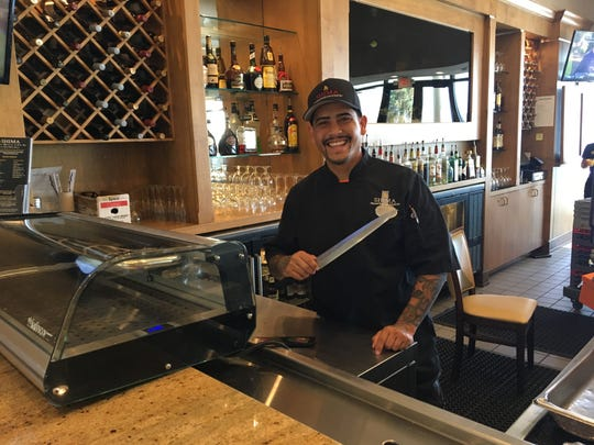 Sai Chaleunsouk is one of the sushi chefs at Shima inside the Sundial Resort on Sanibel.