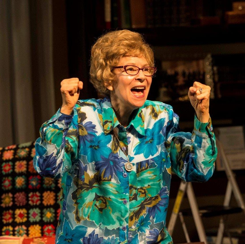 Dr. Ruth visits Florida Rep to see her life onstage. And it's about a lot more than sex.
