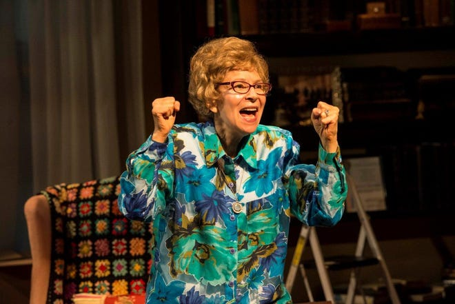 "Susan Greenhill stars as famous sex therapist Ruth Westheimer in Florida Rep's ""Becoming Dr. Ruth"""