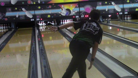 Fort Myers senior bowler James McIver was a News-Press All-Area finalist in 2017, and aims to lead the Green Wave to a strong postseason run in 2018.