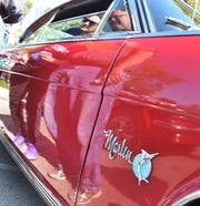 This 1965 Rambler Marlin owned by Bob Peterson of Fond du Lac, complete  with a period eight-track player, was among the fan favorites at a past Pin Ups & Pistons car show held during Autumnfest in Baileys Harbor.