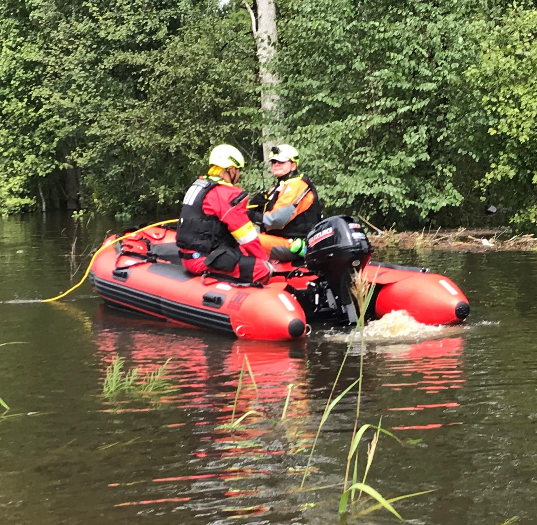 Hurricane heroes: Pickens County team praised for rescuing 162 during Pee Dee flash flood