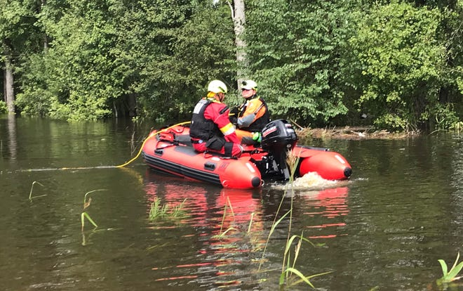 After helping rescue 162 people during a flash flood last weekend, the 10-member Pickens County Emegency Management Water Response Team will leave the state's Pee Dee region Tuesday and head home.