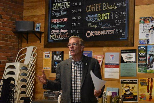 Great Falls Mayor Bob Kelly talks about the excellent opporunties around Great Falls for locally-sourced food.